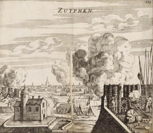 Verovering van Zutphen door Prins Maurits in 1591