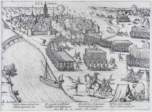 Inname Zutphen 16 oktober 1572